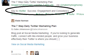 Twitter Retweeting Strategy