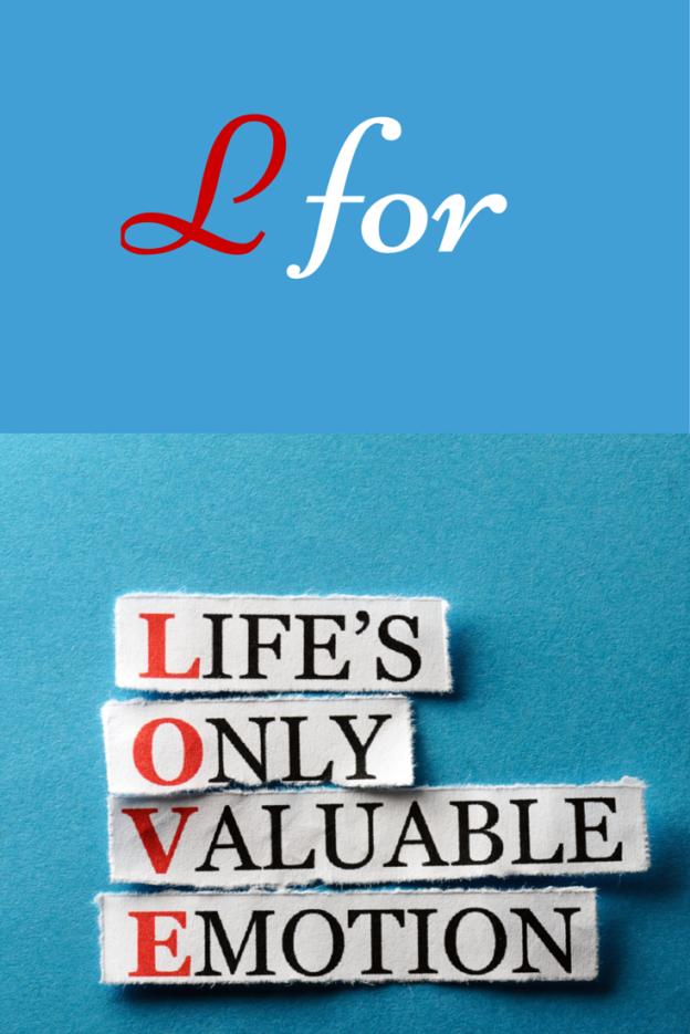 L for Love: Facebook Blogging Challenge