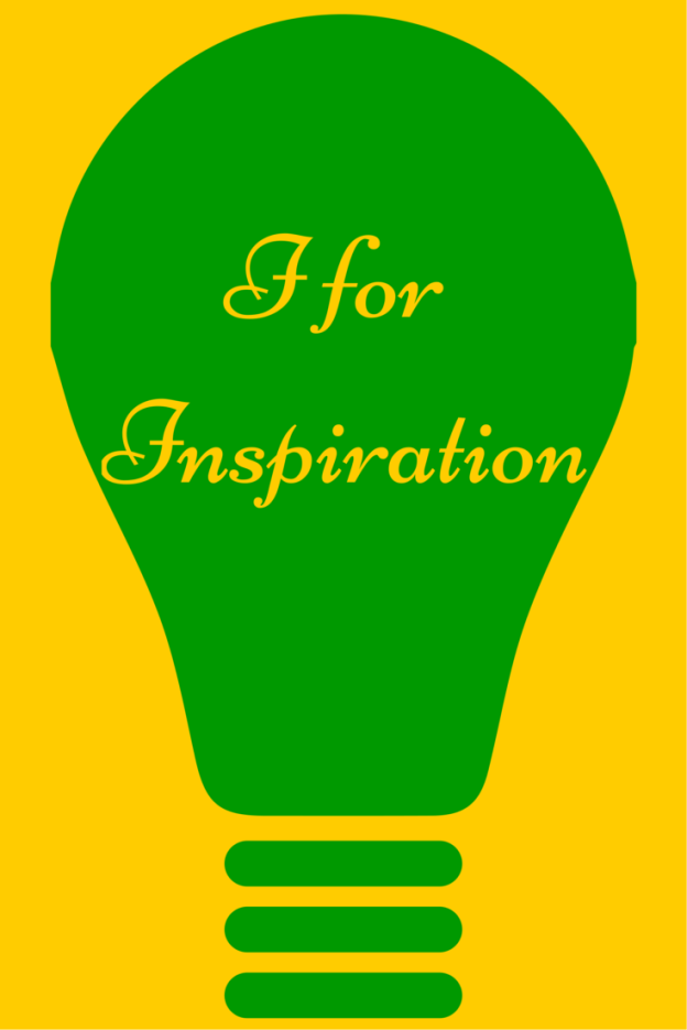 I for Inspiration: Facebook Blogging Challenge